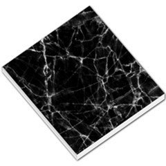 Black Marble Stone Pattern Small Memo Pads