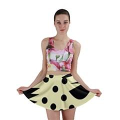 0012h Paleyellowandblackabstract1 Mini Skirts