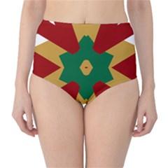 Marita Silje High-Waist Bikini Bottoms