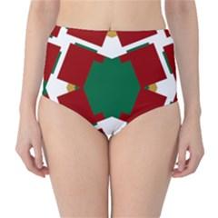 Marita Pia High-Waist Bikini Bottoms
