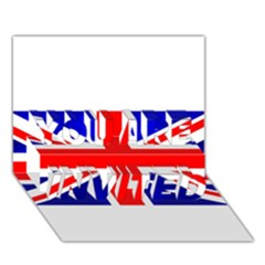 Brit1 YOU ARE INVITED 3D Greeting Card (7x5)