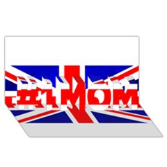 Brit1 #1 Mom 3d Greeting Cards (8x4)