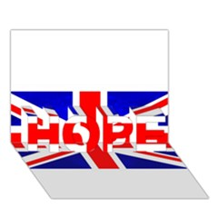 Brit1 HOPE 3D Greeting Card (7x5)