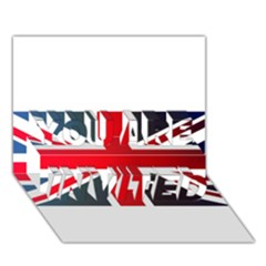 Brit2 YOU ARE INVITED 3D Greeting Card (7x5)