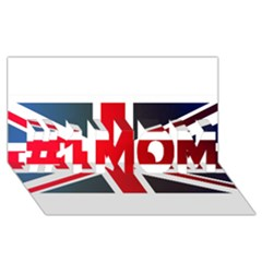 Brit2 #1 MOM 3D Greeting Cards (8x4)