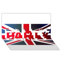 Brit2 PARTY 3D Greeting Card (8x4)