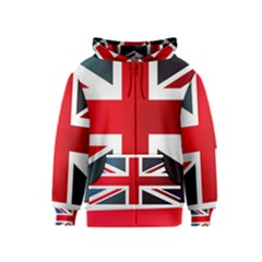Brit2 Kids Zipper Hoodies