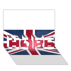 Brit3 Hope 3d Greeting Card (7x5)