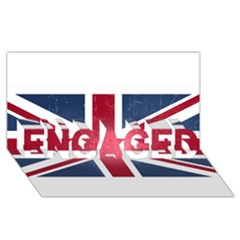 Brit3 ENGAGED 3D Greeting Card (8x4)
