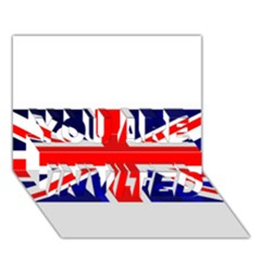 Brit4 YOU ARE INVITED 3D Greeting Card (7x5)