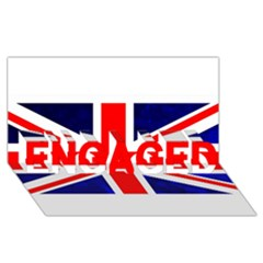 Brit4 ENGAGED 3D Greeting Card (8x4)