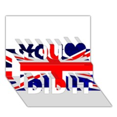 Brit4 You Did It 3d Greeting Card (7x5)