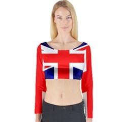 Brit4 Long Sleeve Crop Top