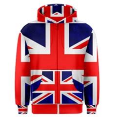 Brit4 Men s Zipper Hoodies