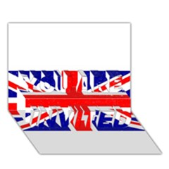 Brit5 YOU ARE INVITED 3D Greeting Card (7x5)