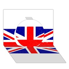 Brit5 Circle 3d Greeting Card (7x5)