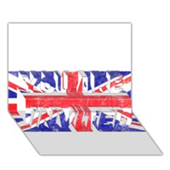 Brit6 You Are Invited 3d Greeting Card (7x5)