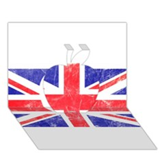 Brit6 Apple 3D Greeting Card (7x5)