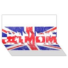 Brit6 #1 Mom 3d Greeting Cards (8x4)