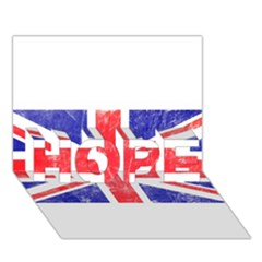 Brit6 Hope 3d Greeting Card (7x5)
