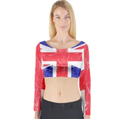 Brit6 Long Sleeve Crop Top