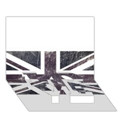 Brit7 Love Bottom 3d Greeting Card (7x5)