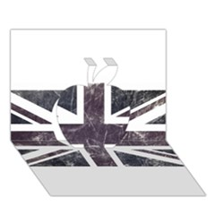 Brit7 Apple 3D Greeting Card (7x5)