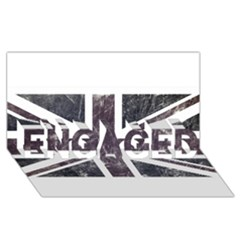 Brit7 Engaged 3d Greeting Card (8x4)