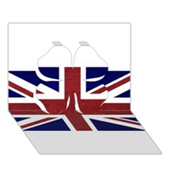 Brit8 Clover 3d Greeting Card (7x5)