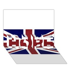 Brit8 Hope 3d Greeting Card (7x5)