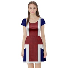 Brit8 Short Sleeve Skater Dresses