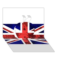Brit9 Apple 3d Greeting Card (7x5)