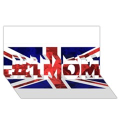 Brit9 #1 MOM 3D Greeting Cards (8x4)