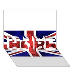 Brit9 HOPE 3D Greeting Card (7x5)