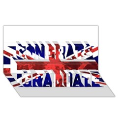 Brit9 Congrats Graduate 3D Greeting Card (8x4)