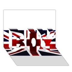 Brit10 Boy 3d Greeting Card (7x5)