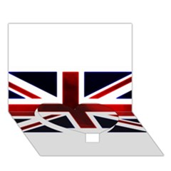 Brit10 Heart Bottom 3D Greeting Card (7x5)