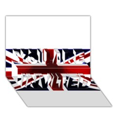 Brit10 YOU ARE INVITED 3D Greeting Card (7x5)