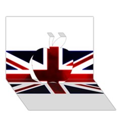 Brit10 Apple 3D Greeting Card (7x5)