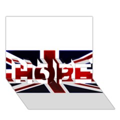 Brit10 Hope 3d Greeting Card (7x5)