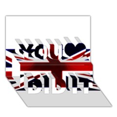 Brit10 You Did It 3d Greeting Card (7x5)