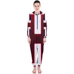 Brit10 Hooded Jumpsuit (ladies)