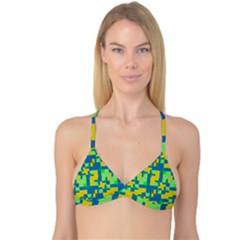 Shapes In Shapes Reversible Tri Bikini Top