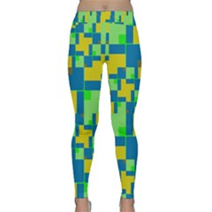 Shapes in shapes Yoga Leggings