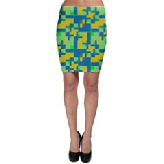 Shapes in shapes Bodycon Skirt