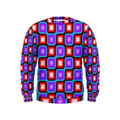 Connected squares pattern  Kid s Sweatshirt