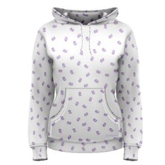 Officially Sexy Os Collection Purple & White Women s Pullover Hoodie