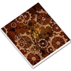 Steampunk In Rusty Metal Small Memo Pads