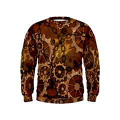 Steampunk In Rusty Metal Boys  Sweatshirts