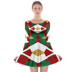 Marita Karianne Long Sleeve Skater Dress